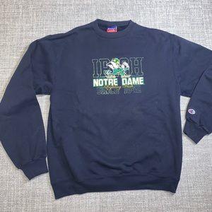 Champion Notre Dame crewneck pullover